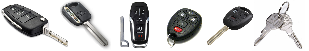 Car Keys Types